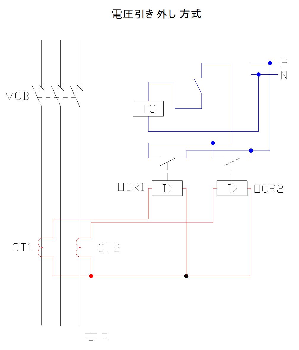 高圧遮断器における電圧引き外し方式について
